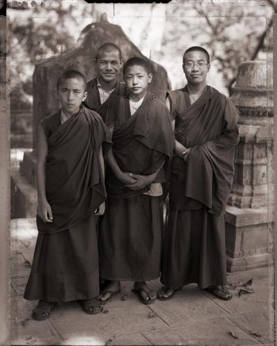 Monks of Swyambhunath